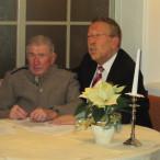 Alfons Hartel zusammen mit Karl-Heinz Brunner